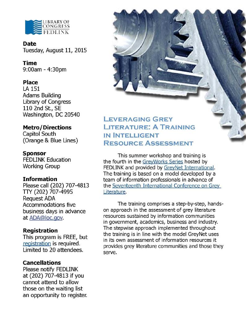 Leveraging Grey Literature